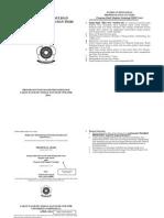 Format Penulisan Proposal DAN TESIS UNSRI