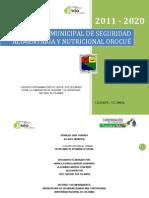 Plan Municipal SAN Orocue