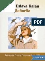Galan, Juan Eslava - Senorita