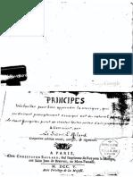 L'Affilard Principes Très Faciles Pour Bien Appren
