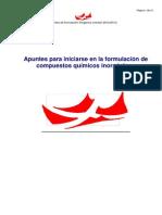 Formulación Inorgánica 2012-2013