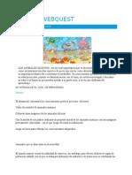 BOCETO WEBQUEST