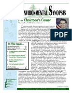 March 2010 Environmental Synopsis