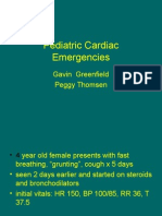 Pediatric Cardiac Emergencies No Colour