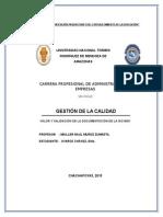Valor y Validacion de La Documentacion en de La Iso 9001-Cooparm