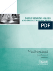 Payday Lending Abuses and Predatory Practices