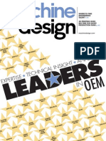 Machine Design Leaders
