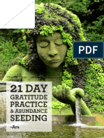 21DayPractice of gratitude