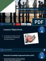 economic methodology positive   the economic problem