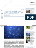 Www Ecoosfera Com 2013 10 Joven Colombiana Logra Reemplazar