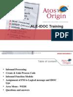 ALE IDOC Training-Day 6