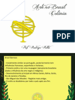 Arte Brasil Colônia