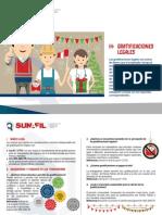 Derechos Laborales -  Gratificaciones Legales