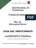 Guia Del Participante Rol de Educador Scout