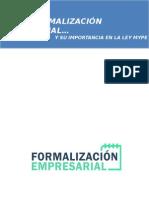 Cómo formalizar una empresa en el Perú