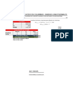 Verificacion de Acero en Vigas y Columnas