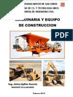 Maquinaria y Equipo de Construccion