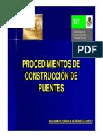 Proceso de Construccion Puentes atirantados
