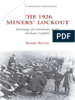 The 1926 Miners Lockout