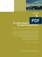 8. An evidence-based assessment of prescribed grazing practices