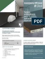 Finsa - Ficha Superpan_H_Deck-es