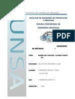 Diseño Del Proceso Alianza Fideos S.A