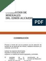 Conminucion de Minerales