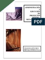 Admon. de Proyectos Minero-Metalúrgicos