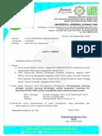 011 - Permohanan Sambutan Rektor