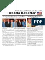 October 21 - 27, 2015  Sports Reporter