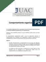 UAC - DO - Comportamiento Organizacional