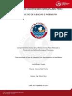 Rojas Javier Comportamiento Sismico Dos Pisos Ladrillos Ecologicos Prensados