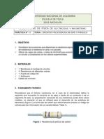 Lab 07 Circuitos Resistencias Serie-Paralelo GUIA