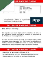 TBD U4 - Seguridad