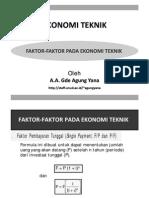 Faktor Faktor Pada Ekonomi Teknik Compatibility Mode2