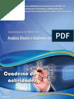 Cuaderno_Análisis, Diseño e Implantación de Algoritmos