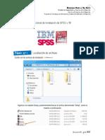 Tutorial de Instalación de SPSS 18
