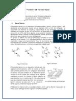 Pre- Informe N°5 Transistores Bipolares