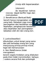 Prinsip-prinsip Etik Keperawatan Dan Prinsip Moral Praktik
