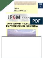 Brochure PM Ingenieros (Setiembre 2015)