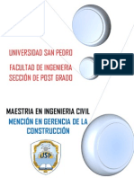 Maestria Ingenieria Civil I