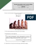 O Paleolítico e o Neolítico