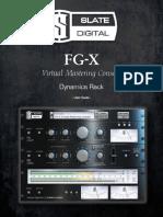 Slate Digital FG-X User Guide
