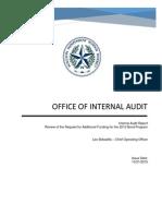 Audit of HISD bond program
