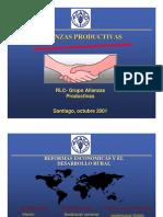 Cadenas productivas + comercialización