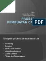 Proses Pembuatan Cat