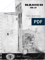 NAMCO forklift manual