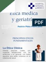 Etica Medica y Geriatria