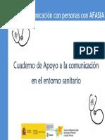 Cuaderno de laminas de comunicación
