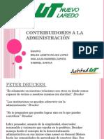 Contribuidores a La Administración